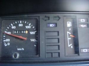 Tampilan speedometer si Kijang