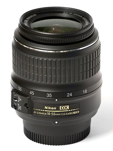 Nikon DX AF-S 18-55mm G II ED