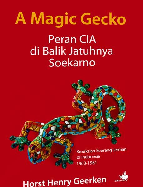 Cover buku A Magic Gecko