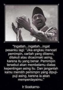 Soekarno quote